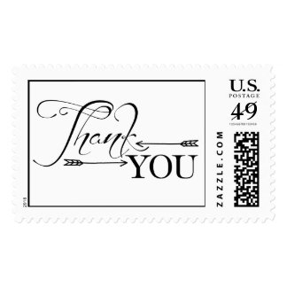 Thank You Arrows Stamps