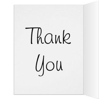 Thank You Asante Sana Hakuna Matata with Gratitude Card