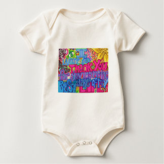 Thank You Baby Bodysuit