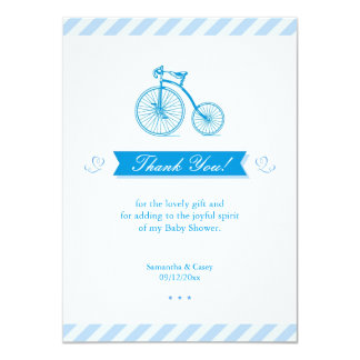 Thank You Baby Shower Flat Card