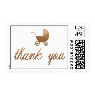 THANK YOU Baby Shower Postage