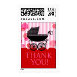 Thank You Baby Shower Postage (red)