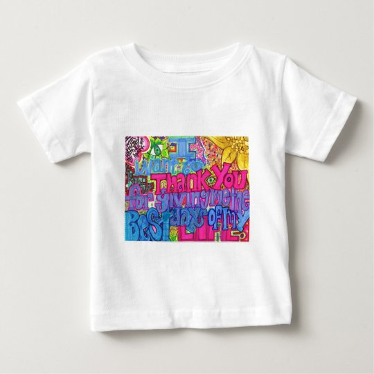 Thank You. Baby T-Shirt