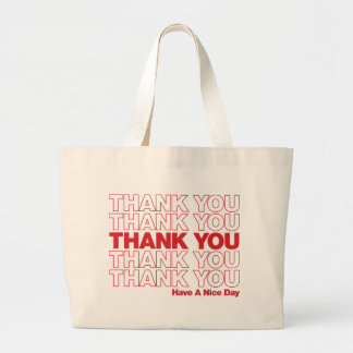 Thank You Bag Design - Red
