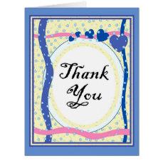 THANK YOU BALLET BIG GRETTING Card