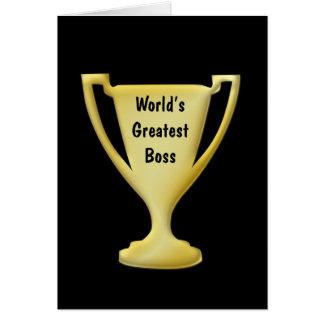 Thank You Best Boss Cards