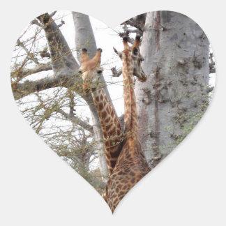 Thank You Best Wishes Wedding Invite Romantic Heart Sticker