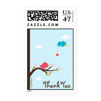 Thank You Birdie Stamps