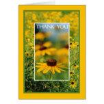Thank You - Black-Eyed Susans Greeting Card