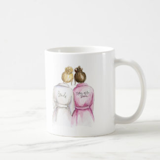 Thank You Blonde Bun Bride Br Bun Mom Coffee Mug