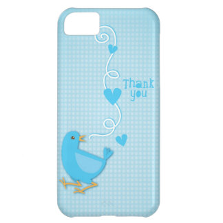 Thank you Blue Bird iPhone 5C Cover