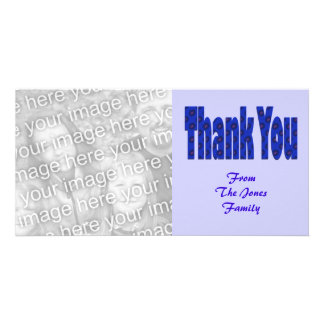 thank you blue card