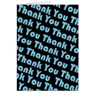Thank You (Blue) Card