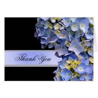 Thank You Blue Hydrangeas, Alpha Greeting Card