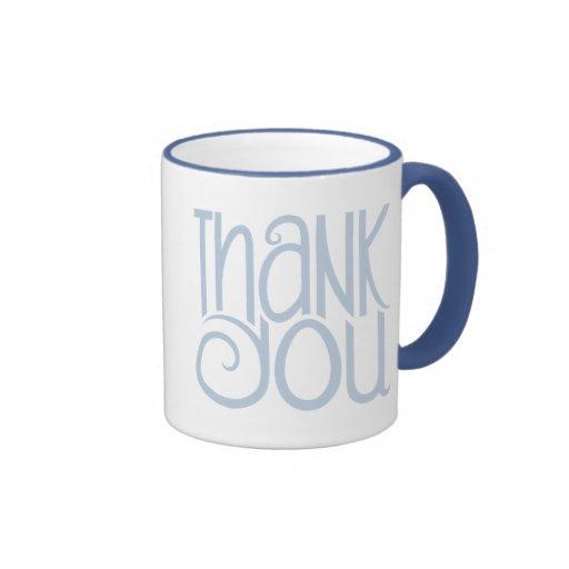 Thank You Blue Mug