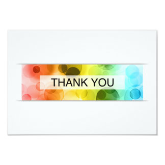 thank you (bokeh) card