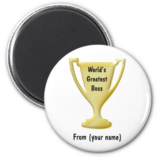 Thank You Boss Gift Manget 2 Inch Round Magnet