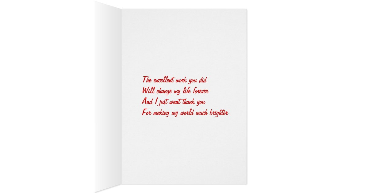 Thank You Boss Greeting Cards Zazzle Com