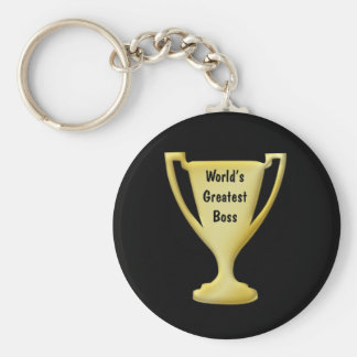 Thank You Boss Keychain
