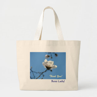 Thank You! Boss Lady! gifts Tote bag Blue Sky
