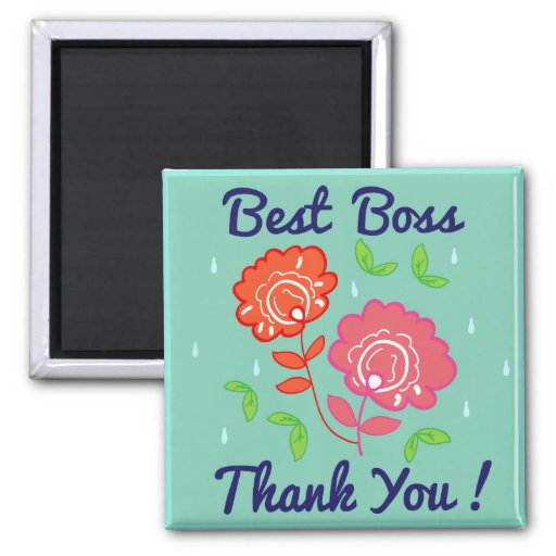 how to say thank you to your boss