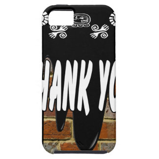 THANK YOU BRICK BACKGROUND PRODUCTS iPhone 5 CASE