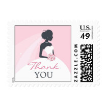 Thank You Bridal Shower Small Postage