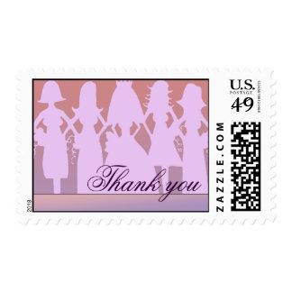 Thank you bridesmaid postage