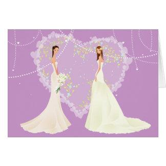 Thank You Bridesmaid Wedding Card