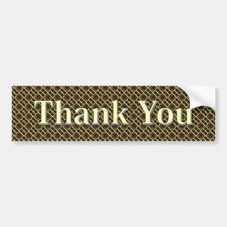 Thank You Bumper Sticker