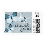thank you : butterflies : postage