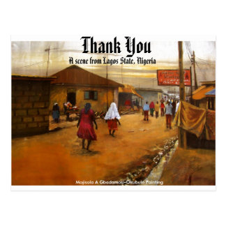 THANK YOU by Mojisola A Gbadamosi-Okubule Postcard