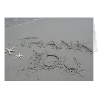 Thank You... by the Sea - Card