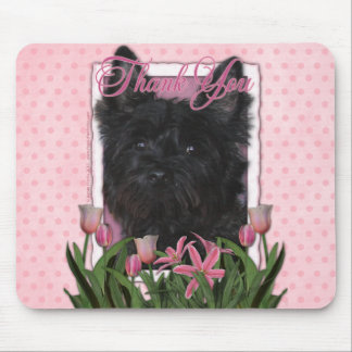 Thank You - Cairn Terrier - Rosco Mouse Pad