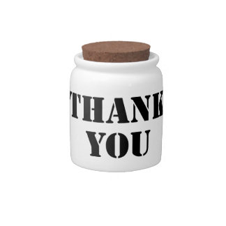 Thank You Candy Dishes