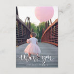 """Thank You Card<br><div class=""""desc"""">Say thank you with these modern calligraphy cards!</div>"""