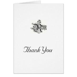 Thank you card/ greeting card