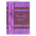 Thank You Card Blank by Molly Harrison