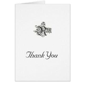 Thank you card/ card