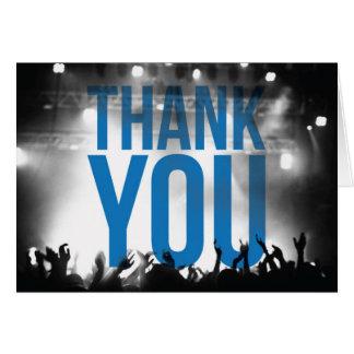 Thank You Card - Concert Theme