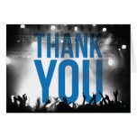 Thank You Card - Concert Theme Greeting Card