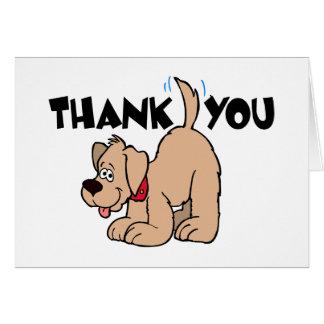 Thank You Card - Dog