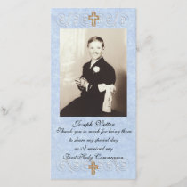 Thank you card First Communion