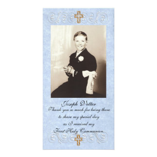 Thank you card First Communion Photo Card
