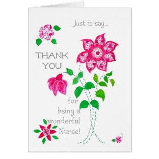 Thank You Card for a Nurse
