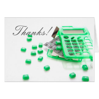 Thank You Card for Amazing Accountants...