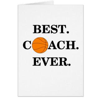 Thank You Card For Basketball Coach