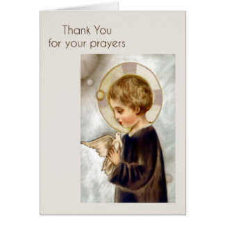 Thank You Card for Prayers