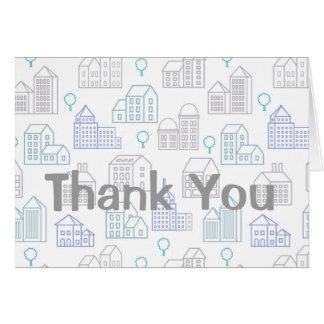 Thank You Card for Realtor or Mortgage officer