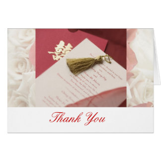 Thank You Card for Wedding
